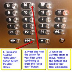 this might be rude for the everyday use but it could be really helpful in a rush - Elevator Express