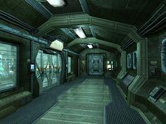 Bilderesultat for inside sci fi spaceships