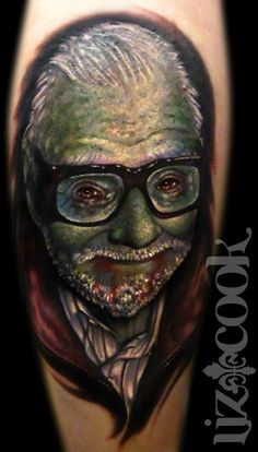 Img245865_Tattoos-Portrait-Zombie-George-Romero-Liz-Cook-Dallas-Texas.jpg 313×550 pixels