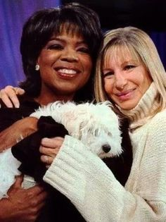 Oprah And Barbra 24 Avril, Legendary Singers, Barbra Streisand, Oscar Winners, Two Faces, Hello Gorgeous, Beautiful, Oprah Winfrey, Female Singers