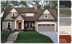 Like The Colors For The Exterior Of The House. Exterior Paint Colors For