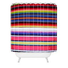 Deb Haugen Surf Serape Shower Curtain | DENY Designs Home Accessories