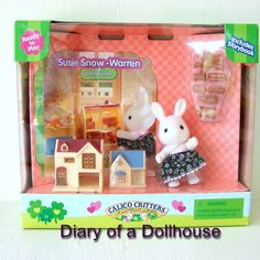Tiny Calico Critters Dollhouses For My Littlest Pet Shop Blythe Doll Japanese Toys, Sylvanian Families, Cool Rooms, Fabric Dolls, Pet Shop, Blythe Dolls, Vintage Toys, Toy Chest, Halloween Costumes