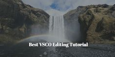 Best VSCO Editing Tutorial. The best app to edit/share photography. Edit your photos with film-inspired filters & professional image tools.