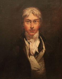 Joseph Mallord William Turner ~ Self Portrait, c.1799