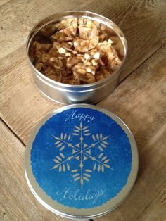 Microwave Holiday Cashew Brittle