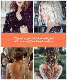 Pour les cheveux bruns: Coiffures blondes Êtes-vous prêt à partir à la découverte de vos cheveux bruns et blonds? L'automne est composé de tons chauds… Si le temps se rafraîchit et ... cheveux émoussés hochzeit haare Pour les cheveux bruns: Coiffures blondes Blondes, Dreadlocks, Hair Styles, Beauty, Brown Hair, Hairstyles, Fall Season, Weights, Hochzeit