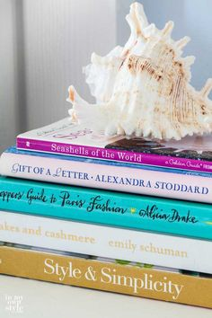 Learn how to decorate with Books with In My Own Style