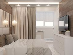 ideas bedroom design chic neutral for 2019 Modern Bedroom Design, Bed Design, House Design, Home Bedroom, Bedroom Decor, Bedroom Inspo, Apartment Furniture Layout, Bedroom With Sitting Area, Bedroom Layouts