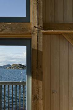 A Coastal Retreat in Scotland #architecture #interiordesgn #hardware http://www.motherofpearl.com