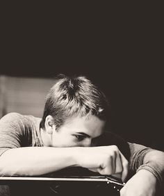Love this picture of Hunter. looks like the way I feel when doing math homework! haha ;D