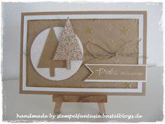 Stampin`Up! Christmas Weihnachten 2014 Tannenbaum Christbaumfestival sandfarben Wünsche zum Fest