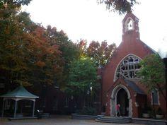 Dahlgren Chapel, Georgetown University, Washington, DC 2011