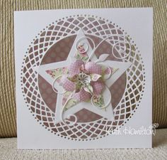 A Passion For Cards: Tonic Studios Layering Star dies Hand Made Greeting Cards, Making Greeting Cards, Fancy Fold Cards, Folded Cards, Tonic Cards, Tattered Lace Cards, Studio Cards, Spellbinders Cards, Mothers Day Cards