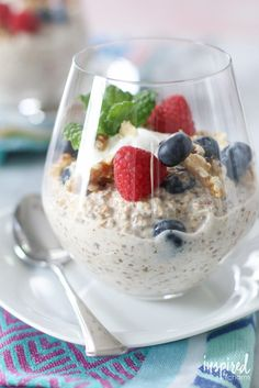 Overnight Oats - Best of 2016: Recipe | Inspired by Charm