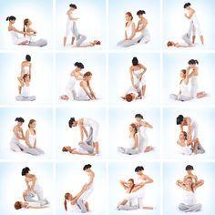 Collection- Thai Yoga Massage Stretches http://www.flourishtherapy.co.uk/thai-yoga-massage/
