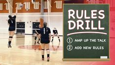Need your players to turn up their communication? Adding rules to this simple 3 vs 3 drill forces players to talk about the right things.