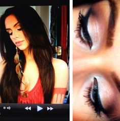 Carli Bybel Pocahontas / natural inspired makeup look - BEST VIDEO EVER. I live by this