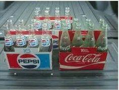 A carton of Cokes!
