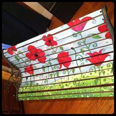 Poppy Love Park Bench!