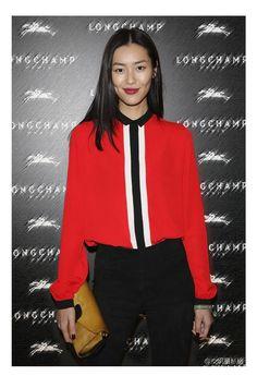 Newest EQ 100% silk black white color block ladies long sleeve blouses Equipment women red shirt spring autumn