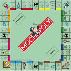 Diy personalised monopoly board game custom monopoly monopoly tambu left her school she was so close to be escaped but returned to ebtrapped the monopoly board represents the cycle is never ending and it will take a solutioingenieria Images
