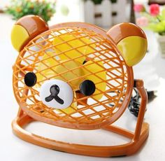 Rilakkuma table fan - so cute!