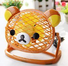 Rilakkuma table fan - so cute! #kawaii #cute
