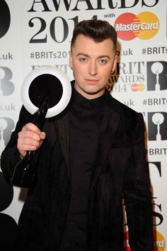 He's the owner of a very shiny Brit Award, which he probably wields like a majestic sword while singing, warrior-like, on the fields of battle. | 27 Reasons Sam Smith Is The Angelic Voice The World Needs Right Now