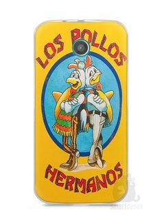 Capa Moto G2 Breaking Bad Los Pollos Hermanos #2