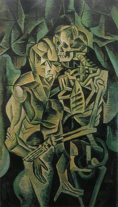Polibek smrti - Bohumil Kubišta | ARTMUSEUM.CZ