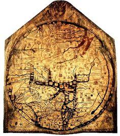 Ancient World Maps: 14th century