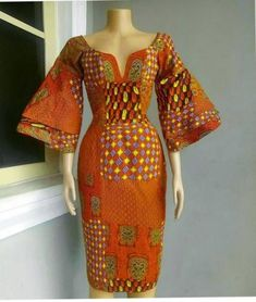 Awesome latest african fashion look . African Fashion Designers, African Inspired Fashion, African Dresses For Women, African Print Dresses, African Print Fashion, Africa Fashion, African Attire, African Wear, African Fashion Dresses