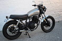 When Lajos dropped off his GN250 in stock form he presented us with some images of builds which inspired him....