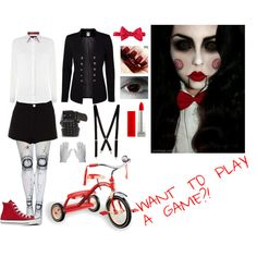 Jigsaw cosplay/costume