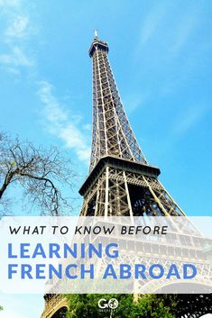 Are you ready to learn French abroad?) Here's what you need to know before enrolling in a French language school anywhere in the world. Tour Around The World, Around The Worlds, Learning French, Volunteer Abroad, Language School, Gap Year, Europe Travel Tips, Learning Resources, Study Abroad