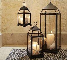 Malta Lantern - Bronze finish #potterybarn