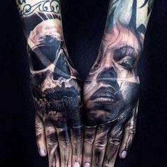 Die 21 besten Hand-Tattoos