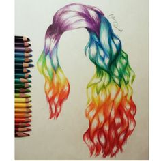 This was my favorite hair drawing I have done