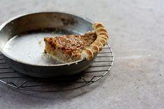 Maple Walnut Custard Pie