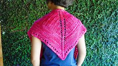 Ravelry: JOY shawlette pattern by Hannah Shin
