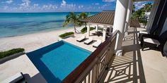 Sun Salutations Villa - pool view from 2nd floor balcony