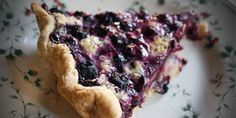 Sometimes it's fun to try something a little different from the usual blueberry pie recipe--like this Blueberry Cream Pie recipe!