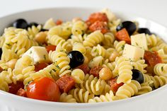 pasta salad recipes with italian dressing | Italian Pasta Salad Recipe | Brown Eyed Baker