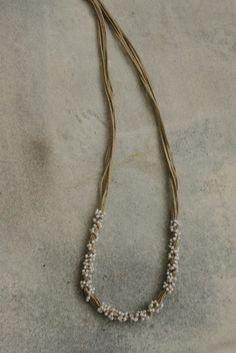 Kette Collier Perlen