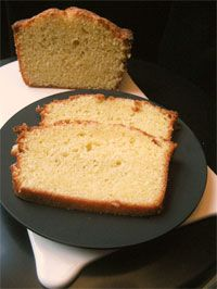 """Baking with Dorie Recipe: EVO and Yogurt Loaf Cake. """"The cake, made with unflavored yogurt and olive oil, is good enough that it would be worth it to go out and buy yogurt for the express purpose of making it.... It's a plain cake, rather like a pound cake, but with a somewhat coarser crumb, and it's made without fuss or fancy equipment."""""""
