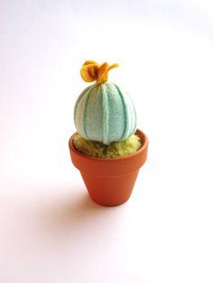 Mini Felt Cactus Plant Home Decoration by KatyPillingerDesigns