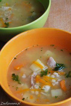 Dzisiaj powrót do tradycji - #krupnik! Zdrowa, sycąca #zupa dla dzieci i dorosłych :) Cheeseburger Chowder, Ethnic Recipes, Food, Essen, Meals, Yemek, Eten