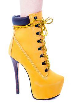 ZIgiNY Z-JO Platform Boots   Dolls Kill