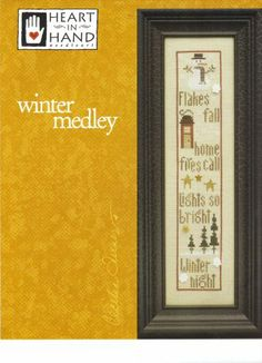 Winter Medley Cross Stitch